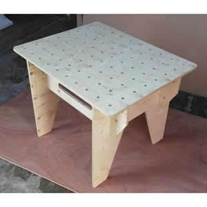 Portable Workbench Router Table (Spruce Plywood)